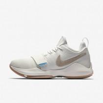 Chaussures de sport Nike PG1 homme Ivoire/Gomme marron clair/Ciel éclatant/Flocons d'avoine