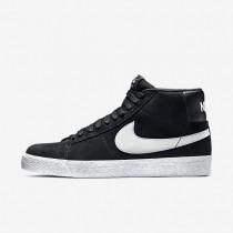 Chaussures de sport Nike SB Zoom Blazer Premium SE homme Noir/Blanc/Grise base