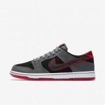 Chaussures de sport Nike SB Dunk Low Pro Ishod Wair homme Gris foncé/Rouge université/Blanc/Noir