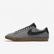 Chaussures de sport Nike SB Blazer Low GT homme Fumée de pistolet/Gomme marron clair/Flamme orange/Épinette noire