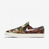 Chaussures de sport Nike SB Zoom Stefan Janoski Slip Canvas Premium homme Multicolore/Ivoire/Obsidienne/Blanc