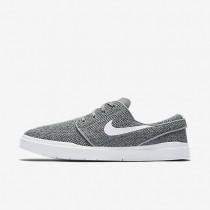 Chaussures de sport Nike SB Stefan Janoski Hyperfeel Mesh homme Gris loup/Noir/Blanc