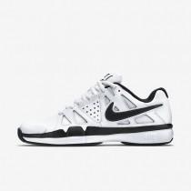 Chaussures de sport Nike Air Vapor Advantage Leather homme Blanc/Gris foncé/Noir