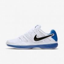 Chaussures de sport Nike Court Air Vapor Advantage homme Blanc/Bleu photo clair/Noir