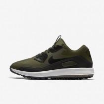 Chaussures de sport Nike Air Zoom 90 IT homme Kaki cargo/Blanc sommet/Orange max/Noir