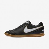 Chaussures de sport Nike Tiempo Rio III IC homme Noir/Blanc
