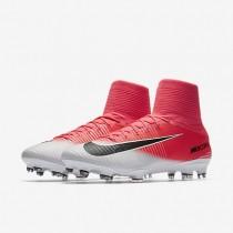 Chaussures de sport Nike Mercurial Superfly V FG homme Rose coureur/Blanc/Noir