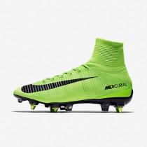 Chaussures de sport Nike Mercurial Superfly V SG-PRO Anti-Clog homme Vert électrique/Vert ombre/Blanc/Noir