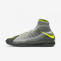Chaussures de sport Nike HypervenomX Proximo II Dynamic Fit IC homme Noir/Gris foncé/Gris loup/Volt