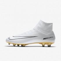 Chaussures de sport Nike Mercurial Victory VI Dynamic Fit CR7 SE FG homme Platine pur/Noir/Blanc/Blanc
