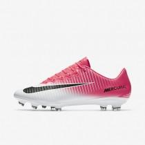 Chaussures de sport Nike Mercurial Vapor XI FG homme Rose coureur/Blanc/Noir