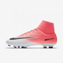 Chaussures de sport Nike Mercurial Victory VI Dynamic Fit FG homme Rose coureur/Blanc/Noir