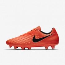 Chaussures de sport Nike Magista Onda II FG homme Cramoisi total/Mangue brillant/Noir