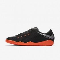 Chaussures de sport Nike HypervenomX Phelon 3 IC homme Noir/Noir/Anthracite/Argent métallique