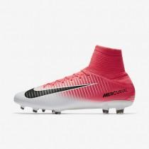 Chaussures de sport Nike Mercurial Veloce III FG homme Rose coureur/Blanc/Noir