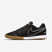 Chaussures de sport Nike TiempoX Proximo Tech Craft 2.0 IC homme Noir/Argent métallique/Gris foncé/Noir