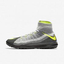 Chaussures de sport Nike HypervenomX Proximo II Dynamic Fit TF homme Noir/Gris foncé/Gris loup/Volt