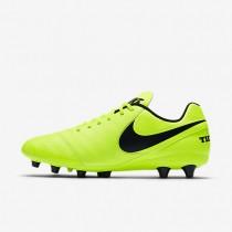 Chaussures de sport Nike Tiempo Genio II Leather AG-PRO homme Volt/Volt/Noir