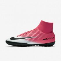 Chaussures de sport Nike MercurialX Victory VI TF homme Rose coureur/Blanc/Noir