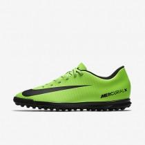 Chaussures de sport Nike Mercurial Vortex III TF homme Vert électrique/Citron flash/Blanc/Noir