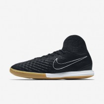 Chaussures de sport Nike MagistaX Proximo II Tech Craft 2.0 IC homme Noir/Argent métallique/Gris foncé/Noir