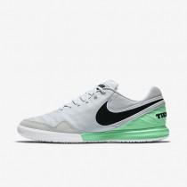Chaussures de sport Nike TiempoX Proximo IC homme Platine pur/Vert Electro/Noir