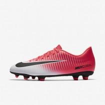 Chaussures de sport Nike Mercurial Vortex III FG homme Rose coureur/Blanc/Noir