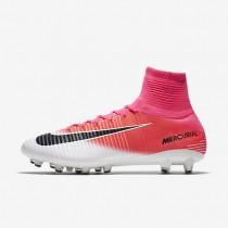 Chaussures de sport Nike Mercurial Superfly V AG-PRO homme Rose coureur/Blanc/Noir