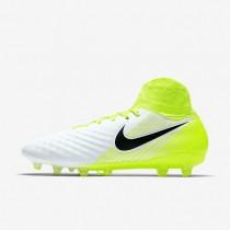 Chaussures de sport Nike Magista Orden II AG-PRO homme Blanc/Volt/Platine pur/Noir