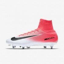 Chaussures de sport Nike Mercurial Veloce III SG-PRO homme Rose coureur/Blanc/Noir