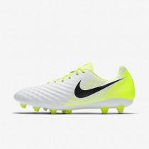 Chaussures de sport Nike Magista Onda II AG homme Blanc/Volt/Platine pur/Noir