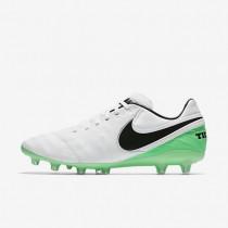 Chaussures de sport Nike Tiempo Legacy II AG-PRO homme Blanc/Vert Electro/Noir
