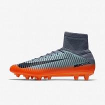 Chaussures de sport Nike Mercurial Veloce III Dynamic Fit CR7 AG-PRO homme Gris froid/Gris loup/Cramoisi total/Hématite métallique