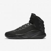 Chaussures de sport Nike Hyperdunk 2016 homme Noir/Volt/Anthracite