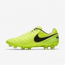 Chaussures de sport Nike Tiempo Legend VI FG homme Volt/Volt/Noir/Noir
