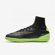 Chaussures de sport Nike MercurialX Proximo II IC homme Noir/Bleu souverain/Vert ombre/Vert électrique