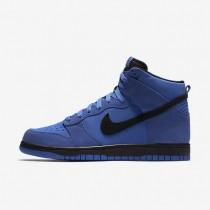 Chaussures de sport Nike Dunk High homme Bleu comète/Noir