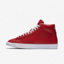 Chaussures de sport Nike Blazer Mid Premium 09 homme Rouge électrique/Noir/Gomme marron clair/Blanc