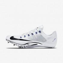 Chaussures de sport Nike Zoom Superfly R4 homme Blanc/Bleu coureur/Noir