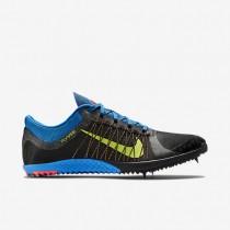 Chaussures de sport Nike Victory XC 3 homme Noir/Bleu photo/Vert ardent