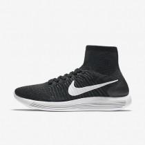 Chaussures de sport Nike LunarEpic Flyknit homme Noir/Anthracite/Volt/Blanc