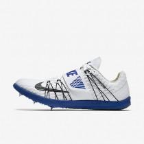 Chaussures de sport Nike Triple Jump Elite homme Blanc/Bleu coureur/Noir