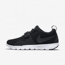 Chaussures de sport Nike SB Trainerendor Leather homme Noir/Blanc/Noir