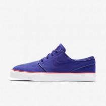 Chaussures de sport Nike SB Zoom Stefan Janoski Canvas homme Nuit profonde/Orange max/Nuit profonde
