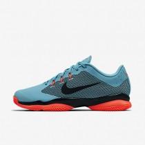 Chaussures de sport Nike Court Air Zoom Ultra Clay homme Bleu polarisé/Hyper orange/Noir