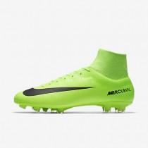 Chaussures de sport Nike Mercurial Victory VI Dynamic Fit FG homme Vert électrique/Citron flash/Blanc/Noir