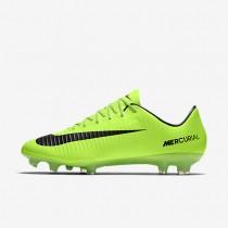 Chaussures de sport Nike Mercurial Vapor XI FG homme Vert électrique/Citron flash/Blanc/Noir