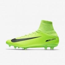 Chaussures de sport Nike Mercurial Veloce III FG homme Vert électrique/Citron flash/Blanc/Noir