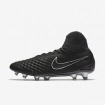 Chaussures de sport Nike Magista Obra II Tech Craft 2.0 FG homme Noir/Noir