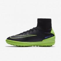 Chaussures de sport Nike MercurialX Proximo II TF homme Noir/Bleu souverain/Vert ombre/Vert électrique